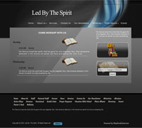 Church website Design